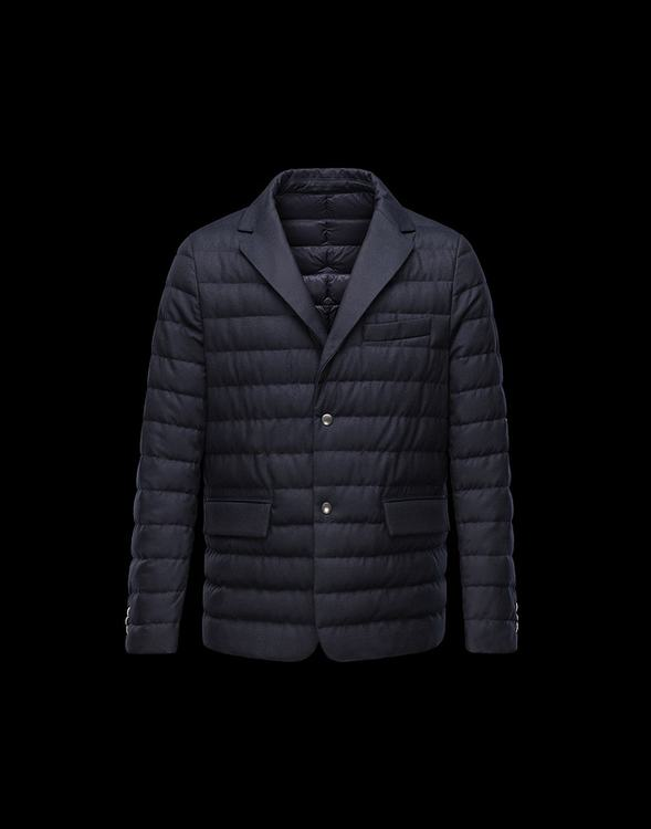 Moncler Mayenne Men Jacket Blue
