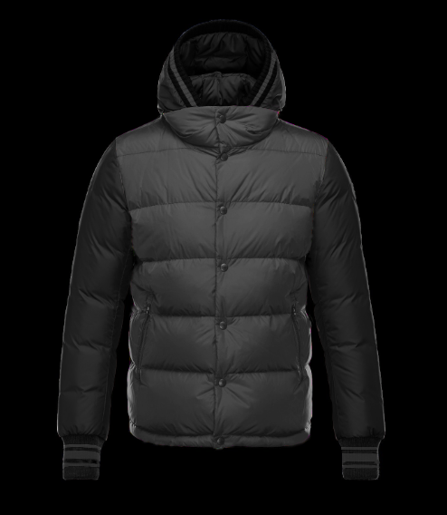 Moncler Monfort Men Jacket Grey Black
