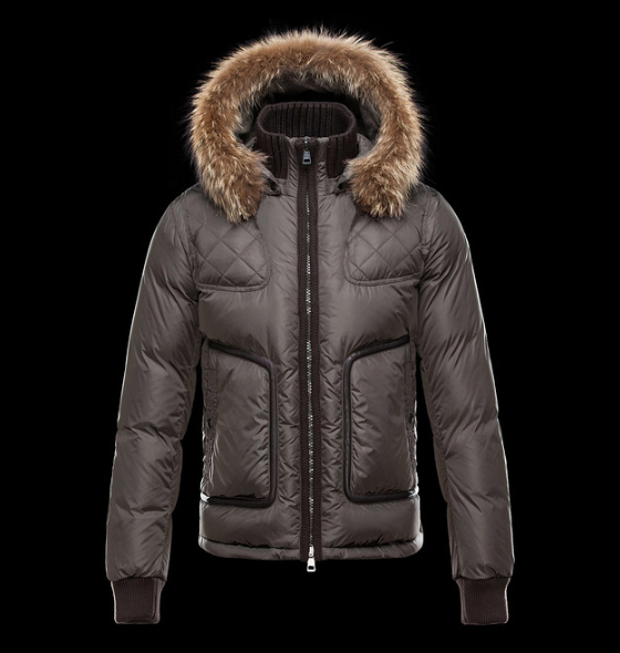 Moncler Montmiral Men Jacket Brown