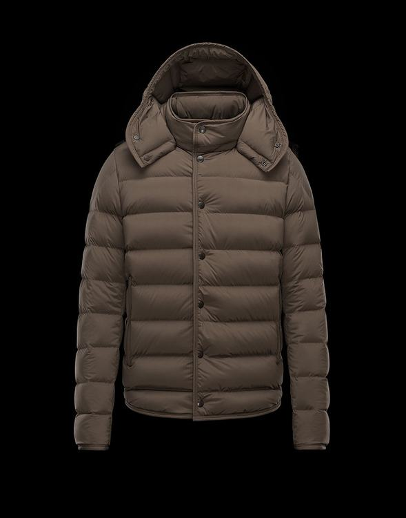 Moncler Nazaire Men Jacket Brown