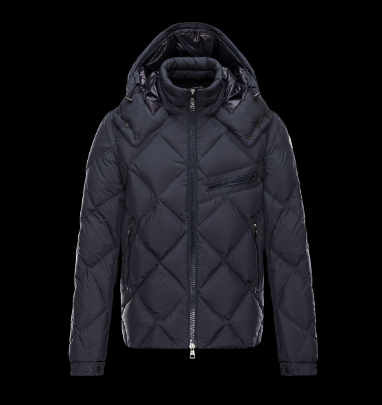 Moncler Newman Men Jacket Dark Blue