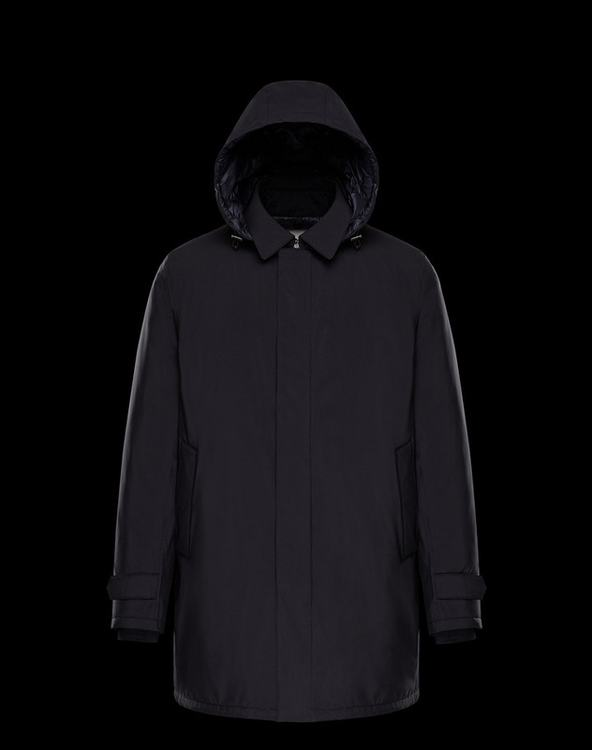 Moncler Noe Men Jacket Dark Blue