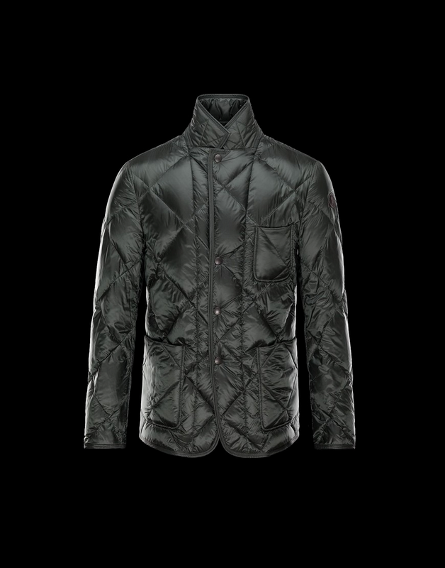 Moncler Norman Men Jacket Dark Cyan