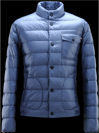 Moncler Paimpol Men Jacket Blue