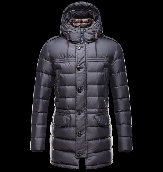 Moncler Rhone Men Jacket Dark Blue