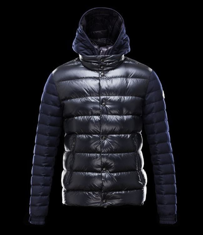 Moncler Riom Men Jacket Blue