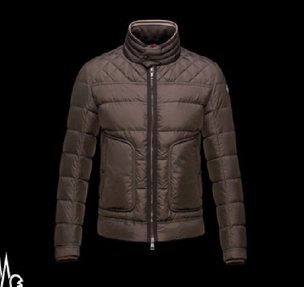 Moncler Rivoal Men Jacket Brown