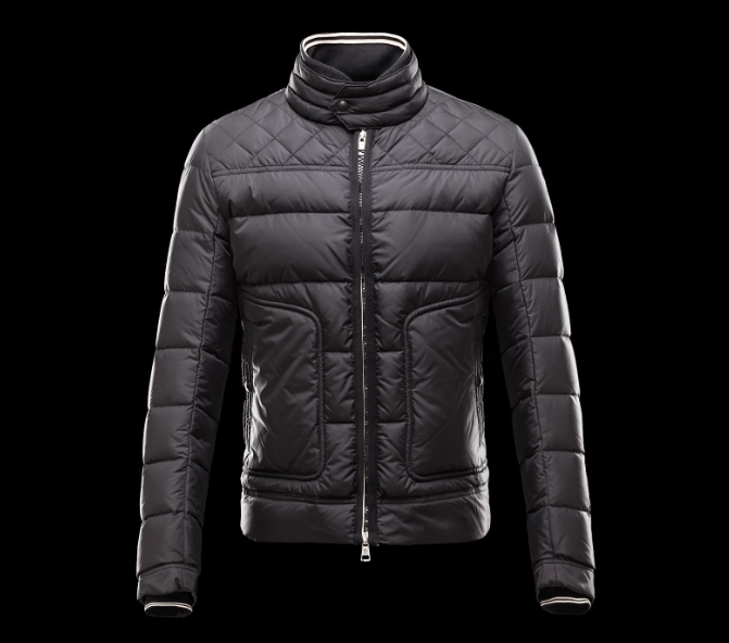 Moncler Rivoal Men Jacket Dark Purple