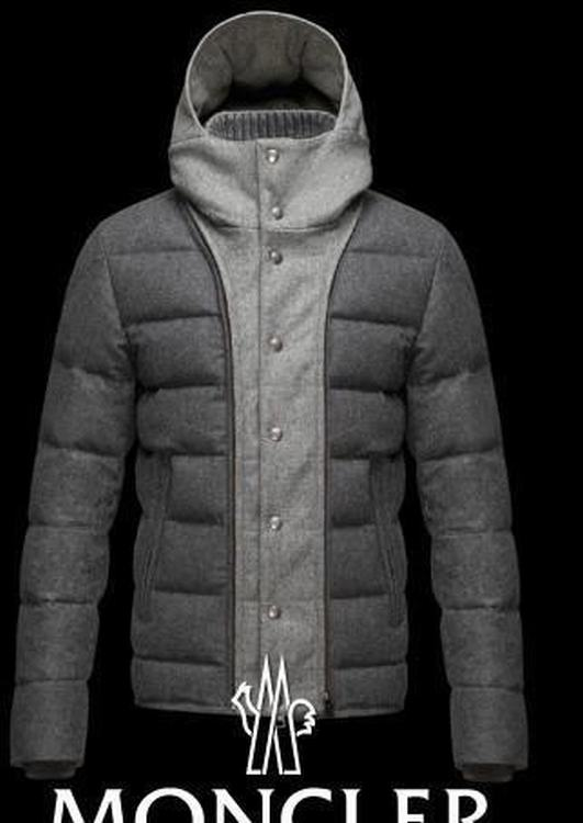 Moncler Salernes Men Jacket Grey