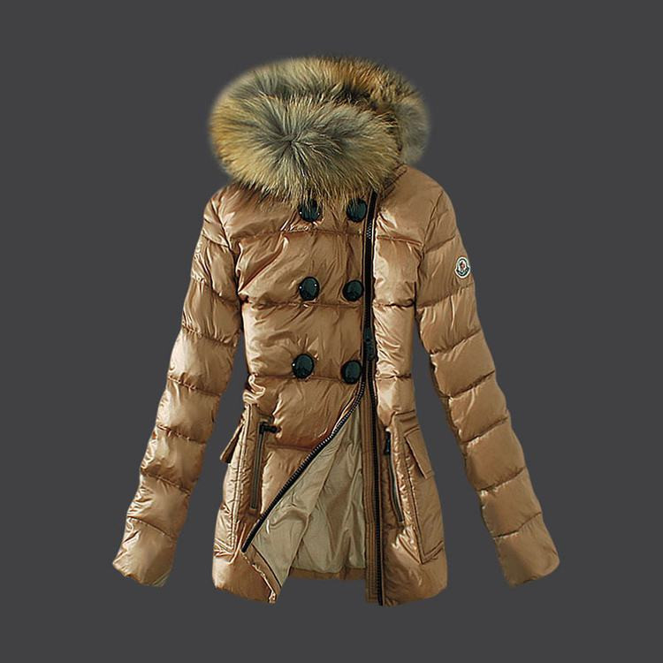 Moncler 1 Women Jacket Brown