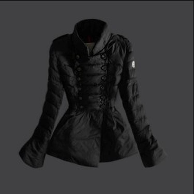 Moncler 17 Women Jacket Black