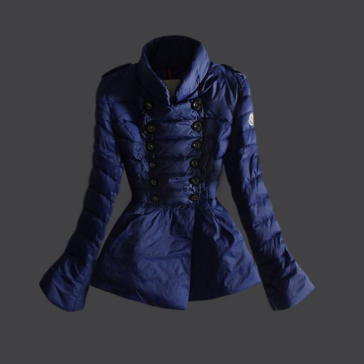 Moncler 17 Women Jacket Blue