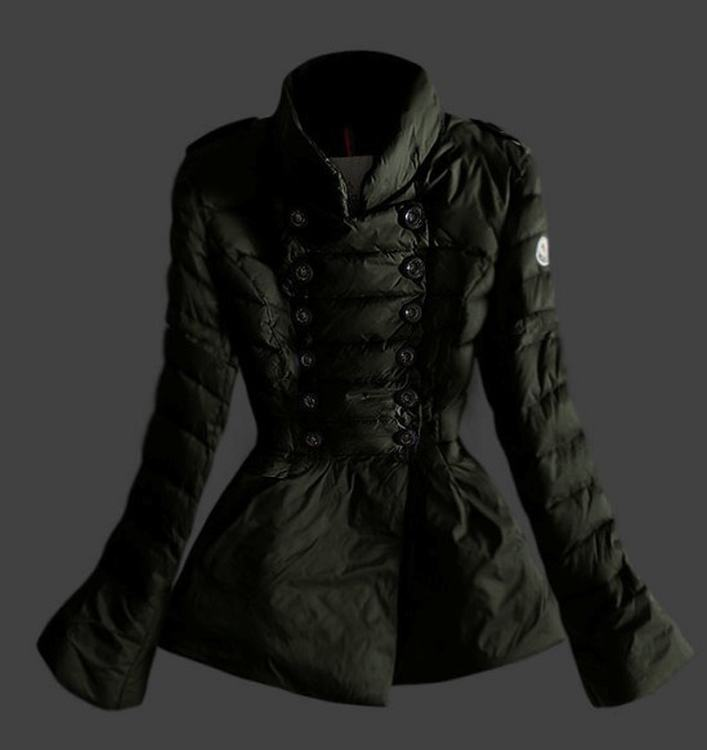 Moncler 17 Women Jacket Green