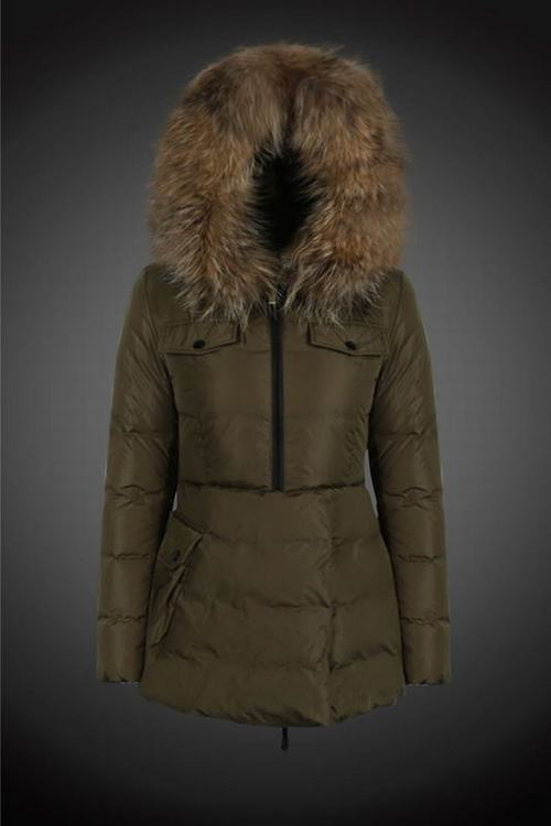 Moncler 4 Women Jacket Brown