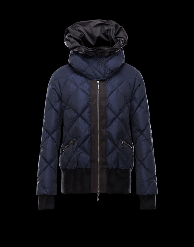Moncler Amance Women Jacket Blue