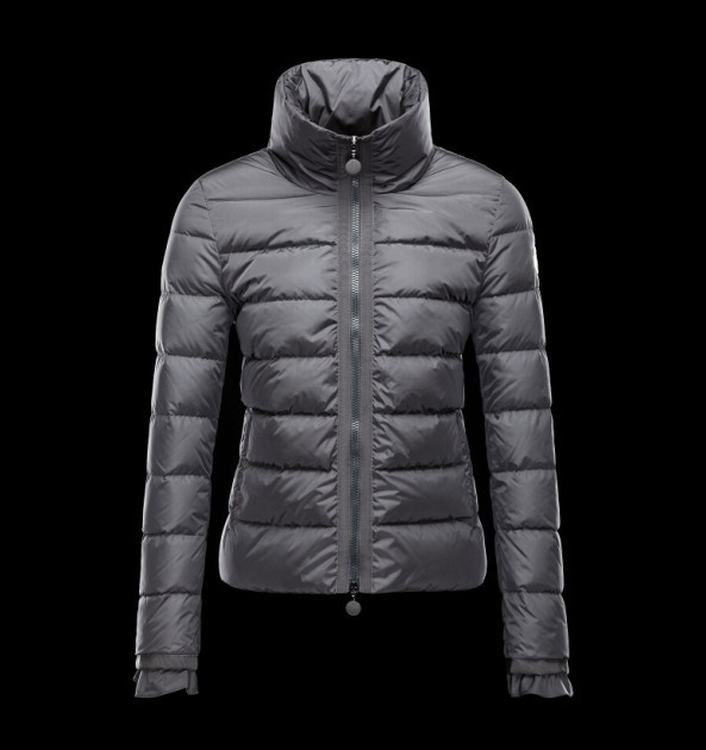 Moncler Anserine Women Jacket Grey