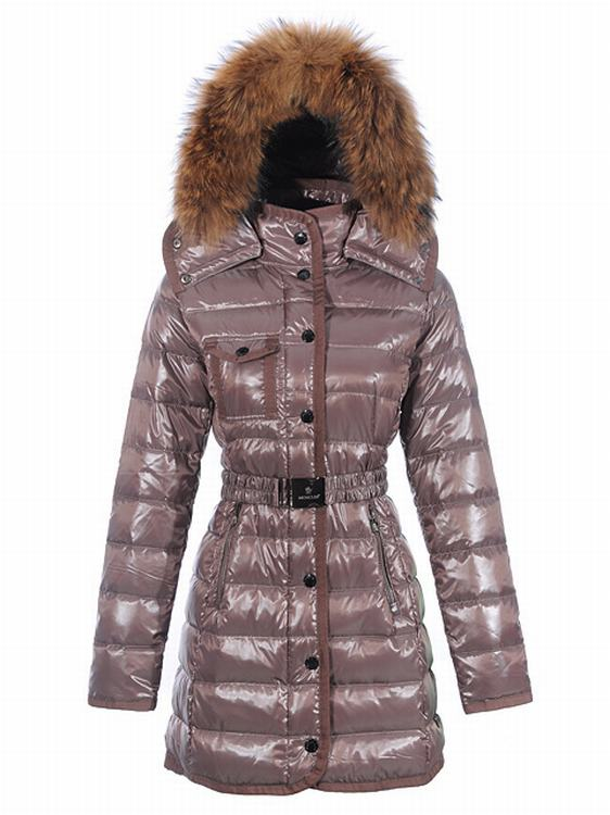 Moncler Armoise Long Women Jacket Cherry