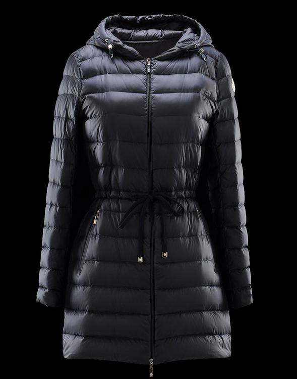 Moncler Aure Women Jacket Dark Blue