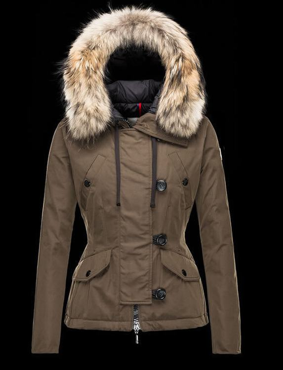 Moncler Ayrolle Women Jacket Brown