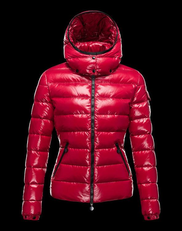 Moncler Bady Women Jacket Chinese Red