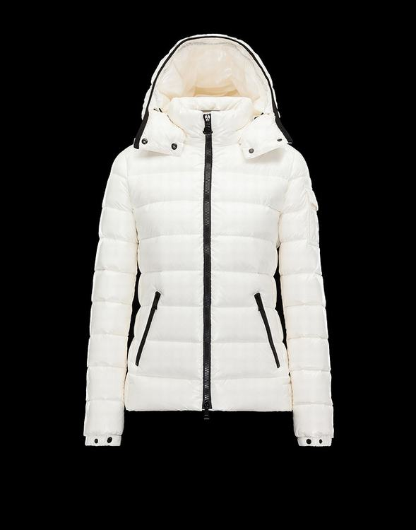 Moncler Bady Women Jacket Cream White