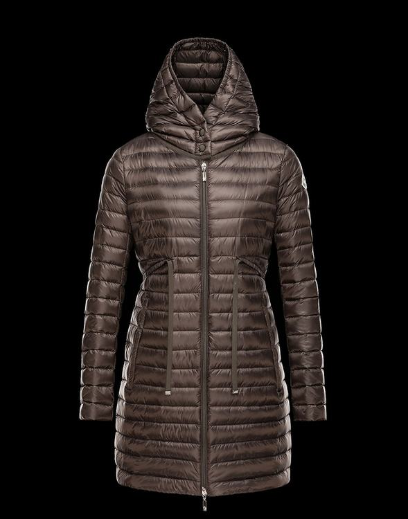 Moncler Barbel Women Jacket Brown