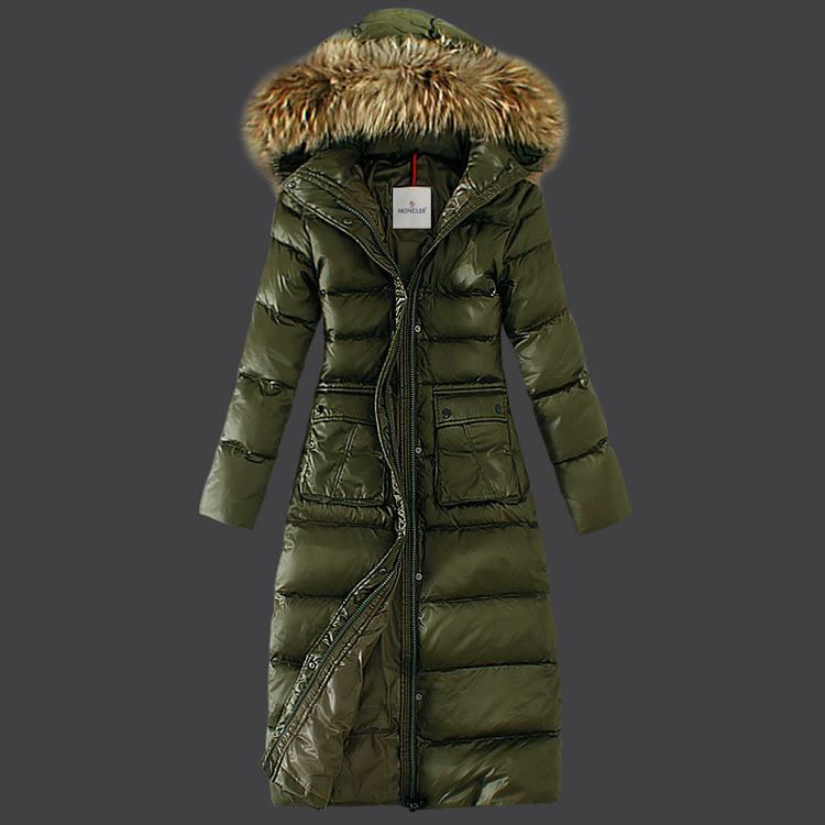 Moncler Bardane Women Jacket Green