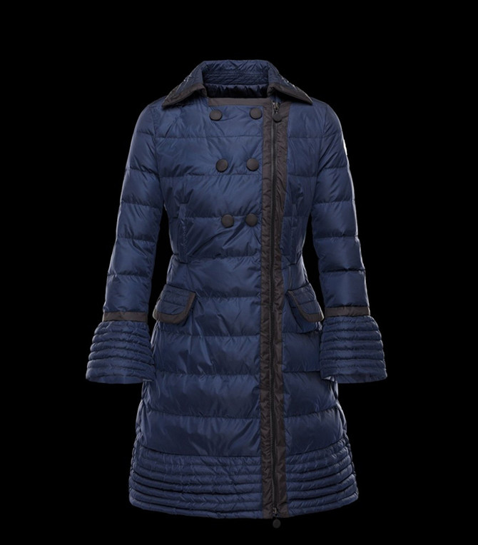 Moncler Bitar Women Jacket Blue