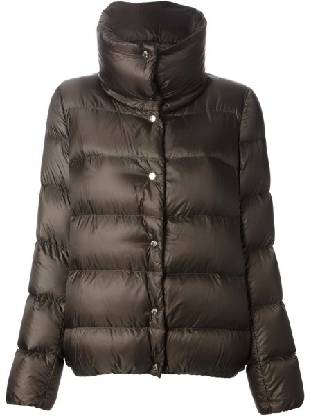 Moncler Bourdon Women Jacket Brown