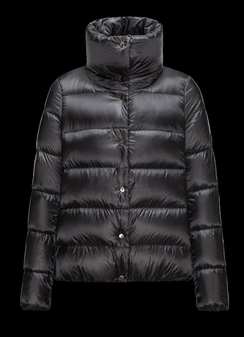 Moncler Bourdon Women Jacket Dark Blue