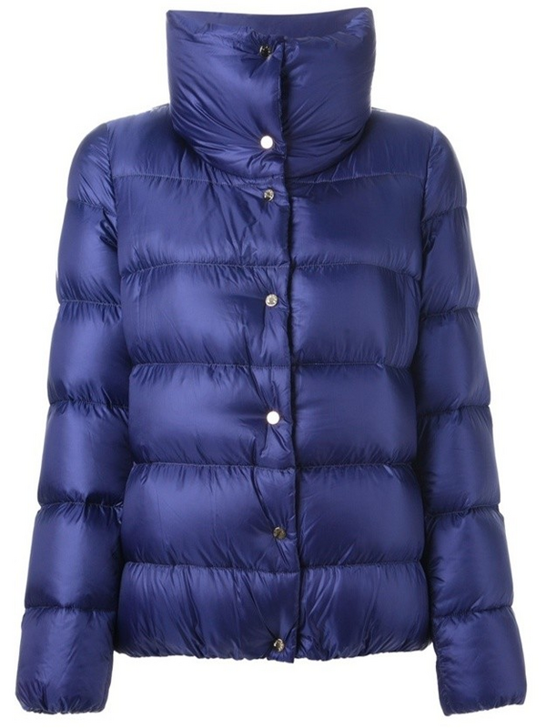 Moncler Bourdon Women Jacket Royal Blue