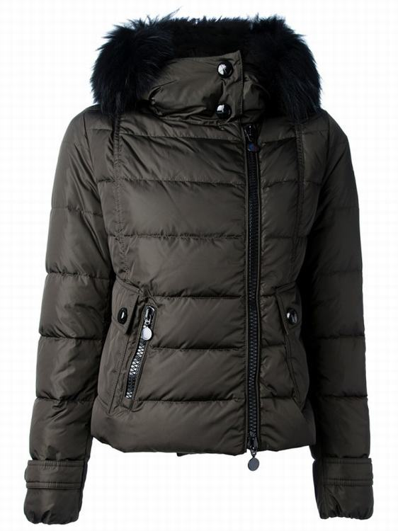 Moncler Bryone Women Jacket Green