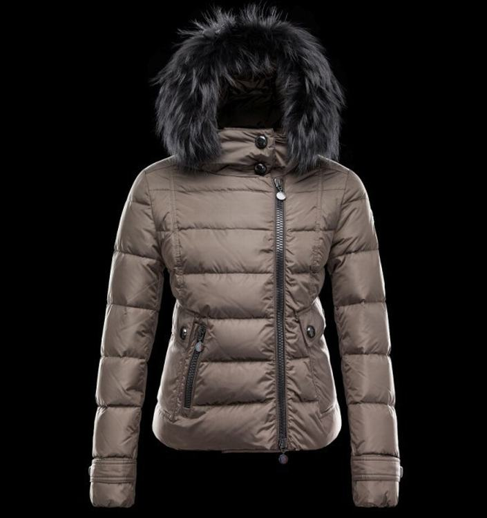 Moncler Bryone Women Jacket Light Brown