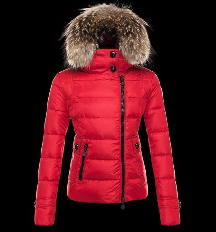 Moncler Bryone Women Jacket Red