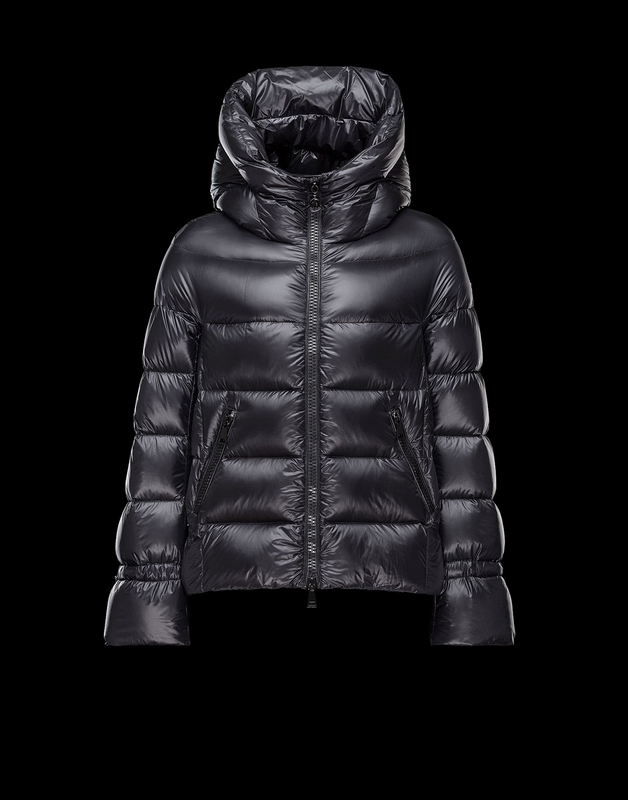 Moncler Chantilly Women Jacket Dark Blue