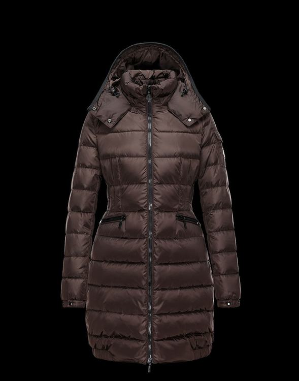 Moncler Charpal Women Jacket Brown