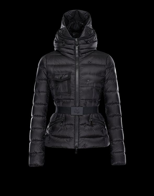 Moncler Cheverny Women Jacket Dark Blue