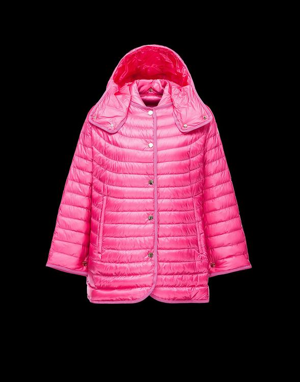 Moncler Chinchard Women Jacket Pink