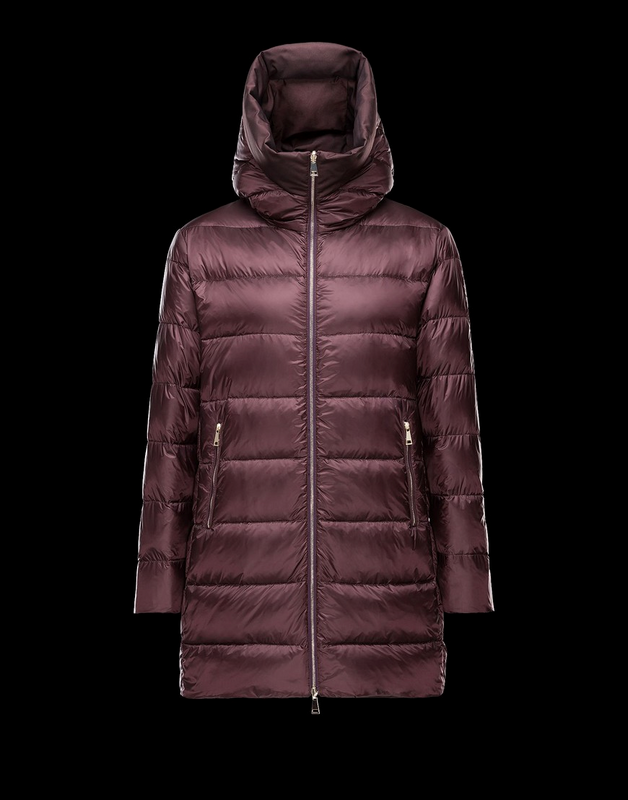 Moncler Colliers Women Jacket Wine Red