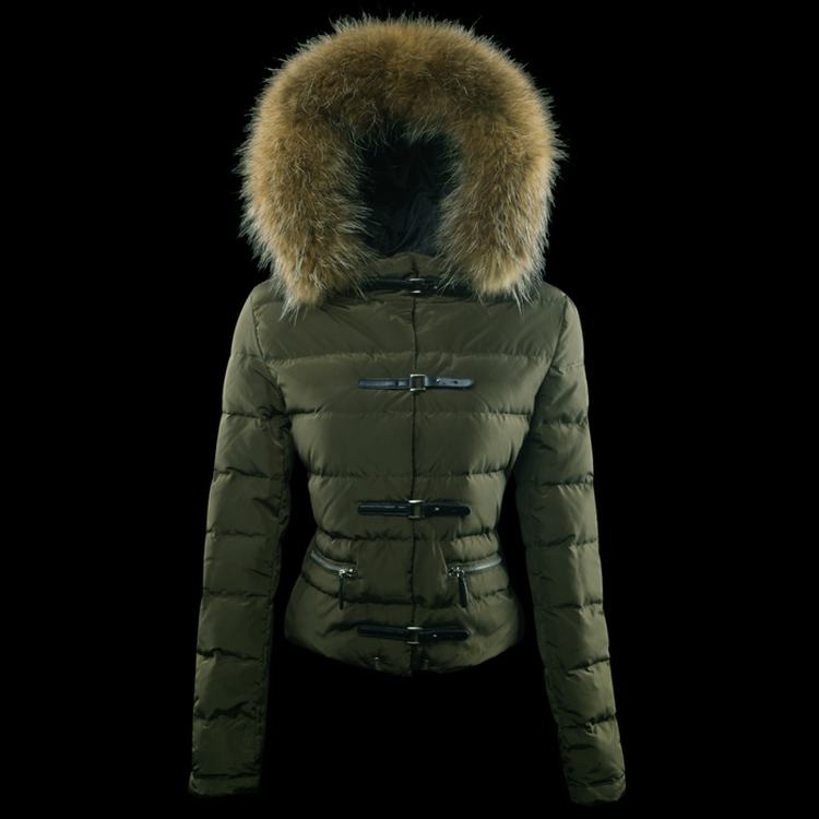 Moncler Crecerelle Women Jacket Green