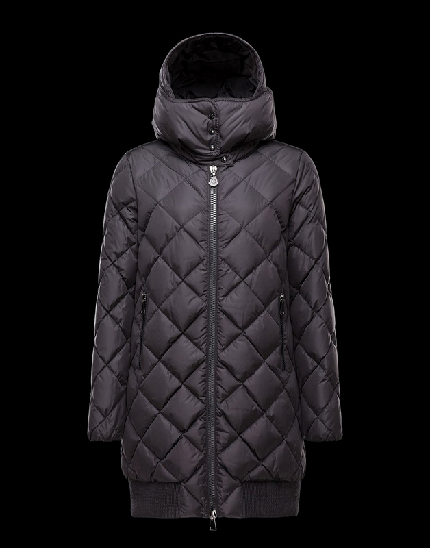Moncler Crozant Women Jacket Dark Blue