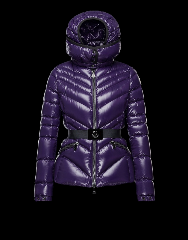 Moncler Crussol Women Jacket Purple