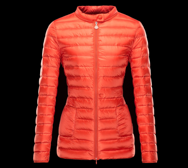 Moncler Dali Women Jacket Orange