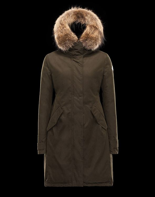 Moncler Evanthia Women Jacket Brown
