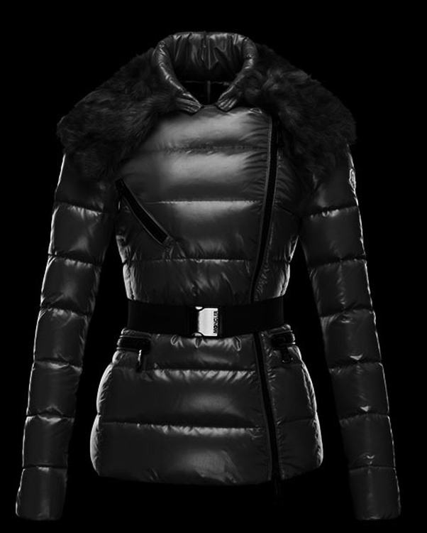 Moncler Faucon Women Jacket Black Black