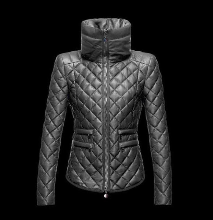 Moncler Femelle Women Jacket Grey