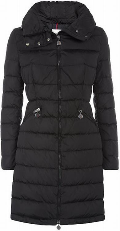Moncler Flamme Women Jacket Black