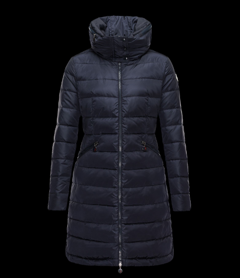 Moncler Flamme Women Jacket Blue