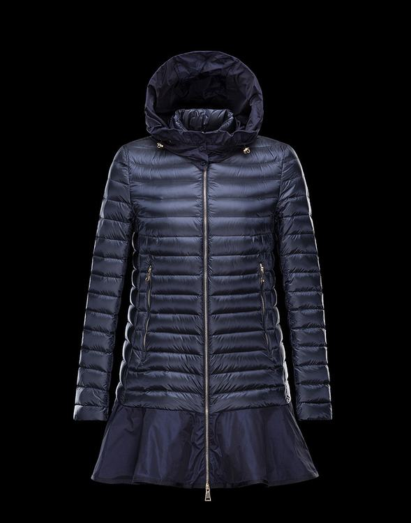 Moncler Fletan Women Jacket Blue