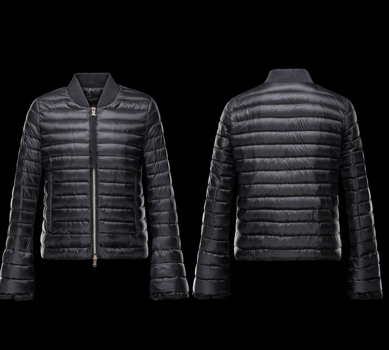 Moncler Fouler Women Jacket Dark Blue